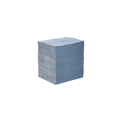 BLUE SPILL PADS 100/bale OIL ONLY