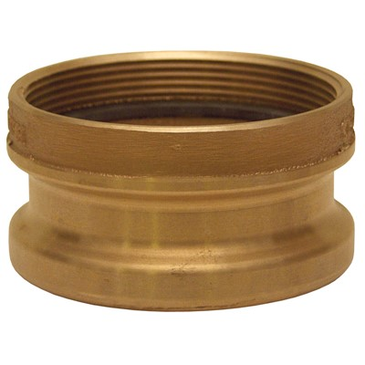 "4"" SERVICE STATION COLLAR/ADAPTOR BRONZE"